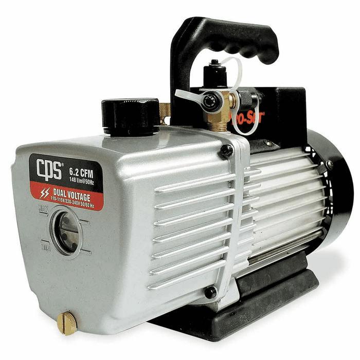 Pro-Set VP12D Two Stage Vacuum Pump, 12 cfm, 10 micron
