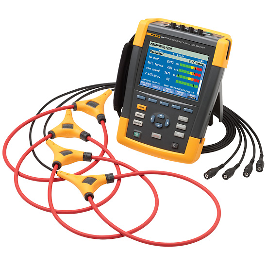 Fluke 438-II Power Quality and Motor Analyzer with Fluke Connect and iFlex  Current Probe