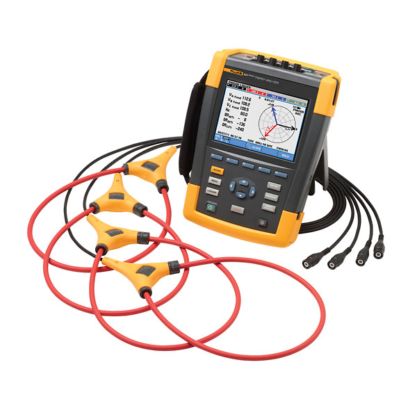 Fluke 435 Ii 3 Phase Power Quality And Energy Analyzer Kit From Davis Instruments