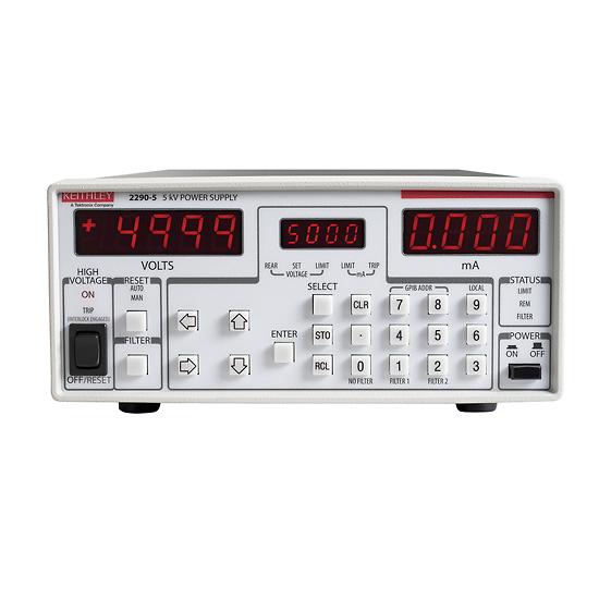 Power Supply, variable 5 kV output, 5 mA max