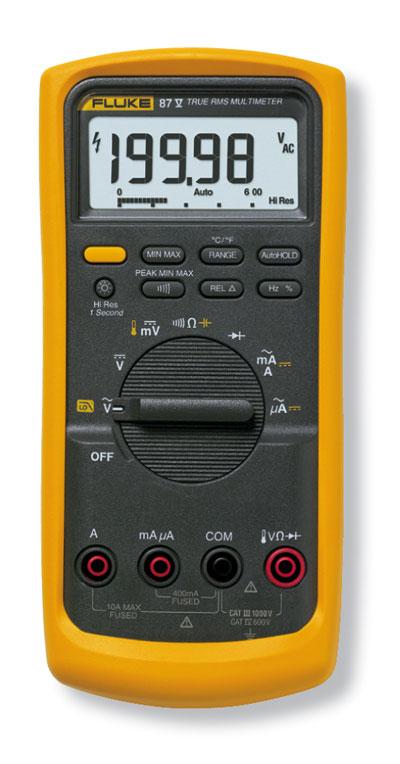 Fluke 87V High Accuracy True RMS Digital Multimeter from
