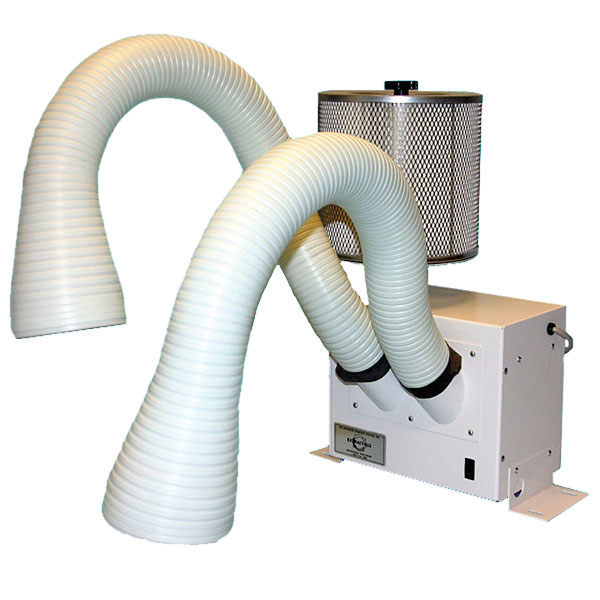 Air Cleaning System Benchtop Dual Arm 115 Vac From Davis