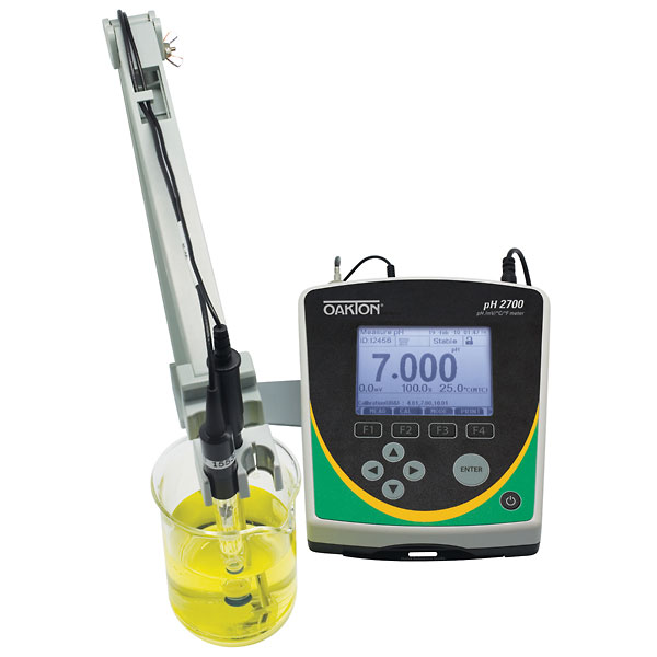 Oakton Ph 2700 Benchtop Meter With Probes From Davis Instruments