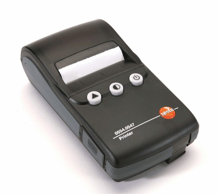 Testo Fast Infrared Printer With Date And Time Stamp From
