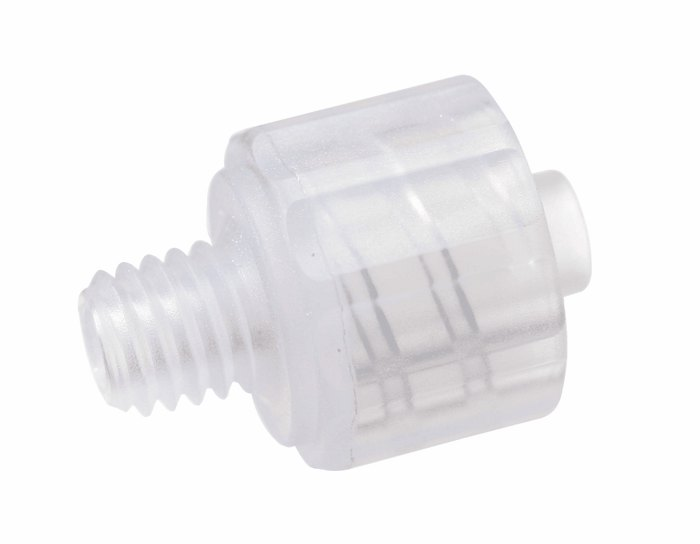 Adapter Polypropylene Male Luer Lock To 10 32 Thread 25