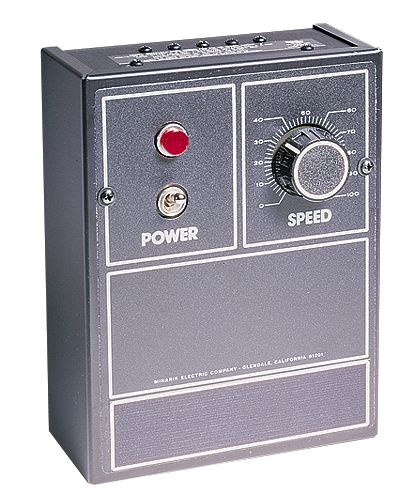 Basic Variable Speed DC Motor Controller for 1 4 to 2 hp