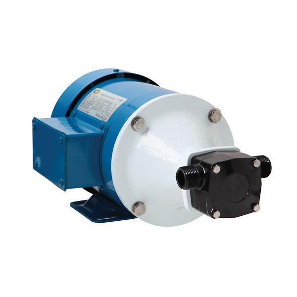 High-Flow Flexible Impeller Pump, 8 GPM or 28 PSI, Viton Impeller, 3/4 HP