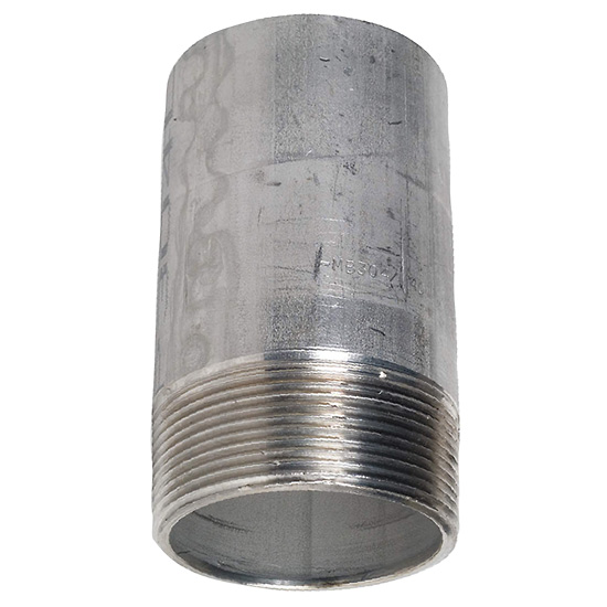 4in Threaded Standoff Kit For 55 Gallon Drums Galvanized