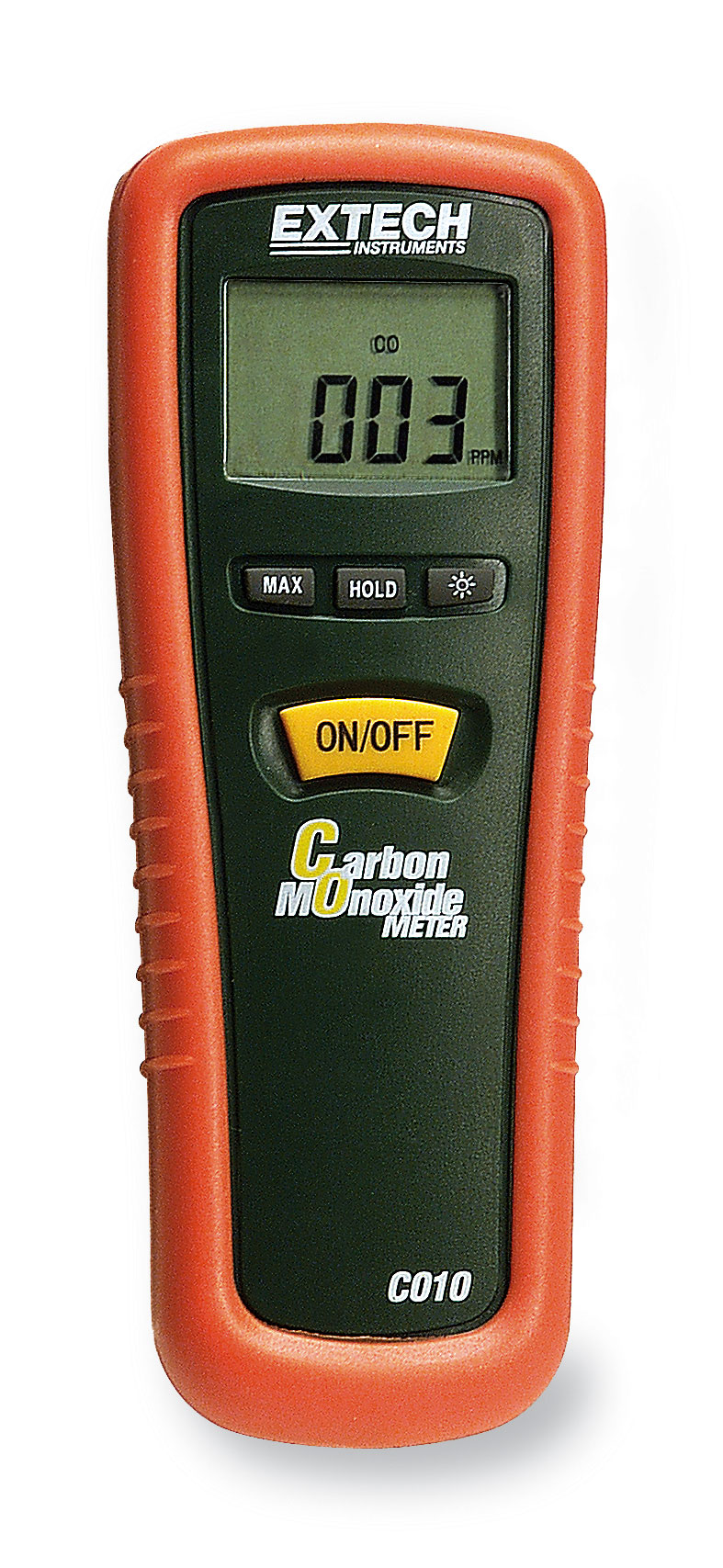 extech co10 carbon monoxide meter 0 to 1000 ppm from davis. Black Bedroom Furniture Sets. Home Design Ideas