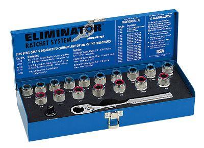 Armstrong Eliminator Fractional Socket Set 10 Sockets From
